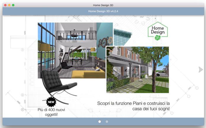 Home design 3d gold progettare la casa dei sogni su mac e for Design casa dei sogni online