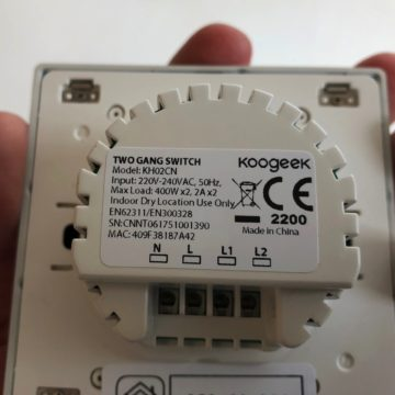 koogeek homekit double switch