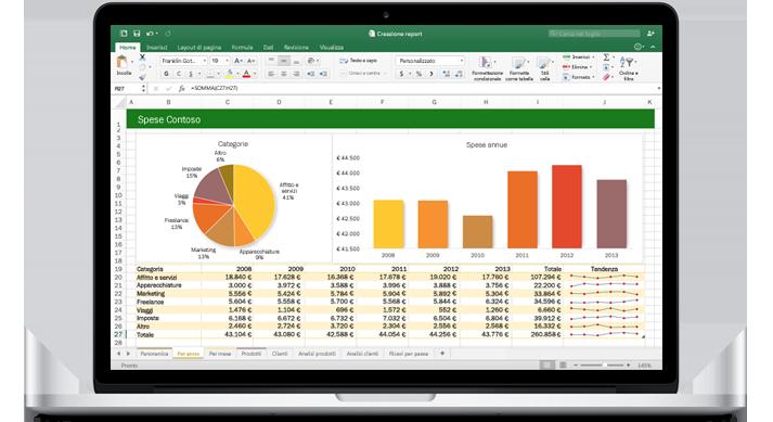 Microsoft Excel per Mac