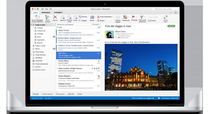 Microsoft Outlook per Mac