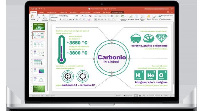 Microsoft PowerPoint per Mac