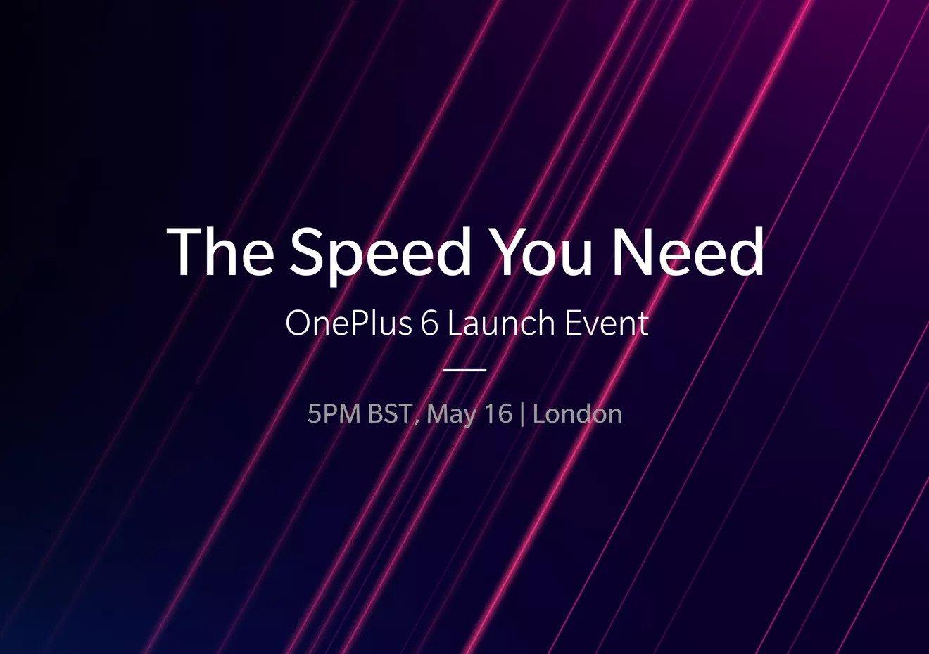 evento oneplus 6