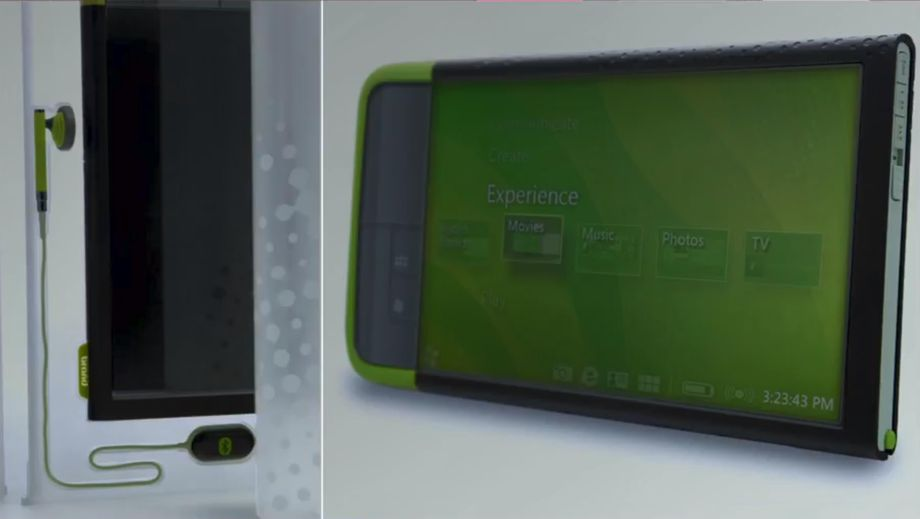 Microsoft Ultra mobile PC