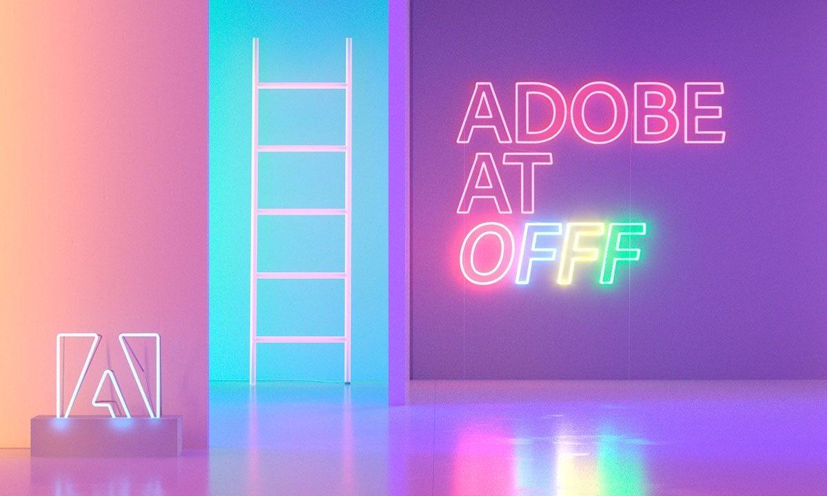 OFFF18, innovazione e design all'evento Adobe in Live streaming