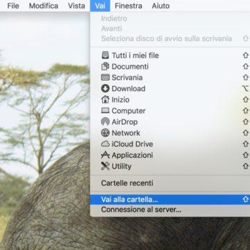 Come aggiungere la scorciatoia ad AirDrop sul dock del Mac