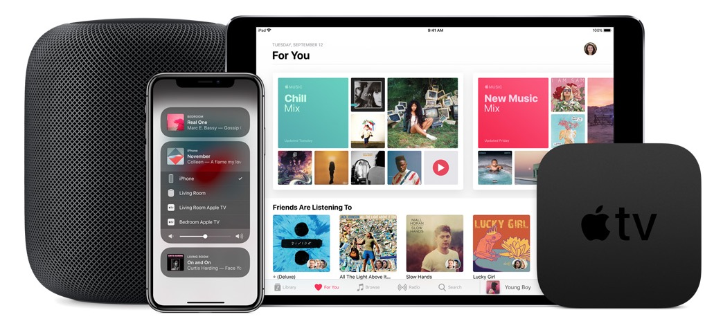 airplay 2 altoparlanti supportati