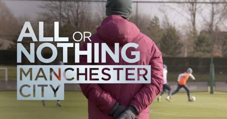 Il grande calcio su Amazon Prime arriva nel 2018 conAll or nothing: Manchester city