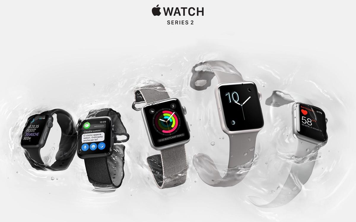 apple watch in una immagine ufficiale