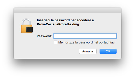 Come proteggere con una password file e cartelle sul Mac