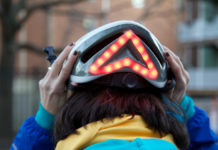Il casco da bici Lumos si controlla con iPhone e Apple Watch