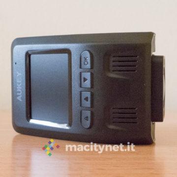 Recensione dashcam con GPS