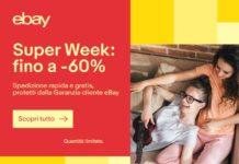 Il Super Week End eBay fino al 29 Maggio con iPhone X, TV, OLED a prezzi mai visti