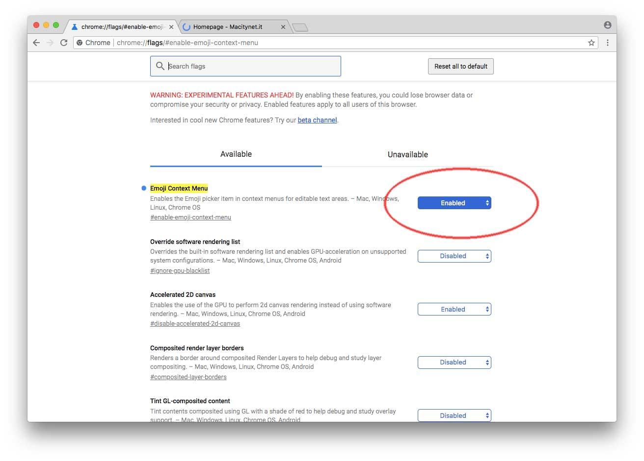 Con Chrome 67 è facilissimo inserire emoji nelle pagine web