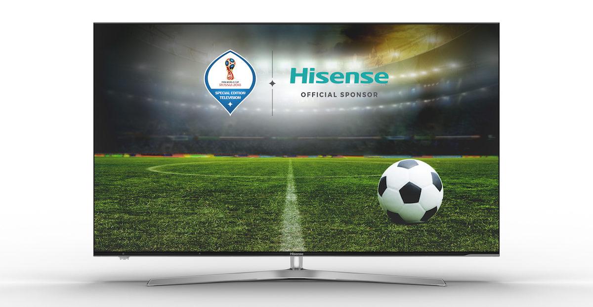 Hisense presenta in Italia i nuovi ULED TV, la gamma ufficiale dei mondiali FIFA 2018