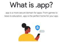 google dominio app
