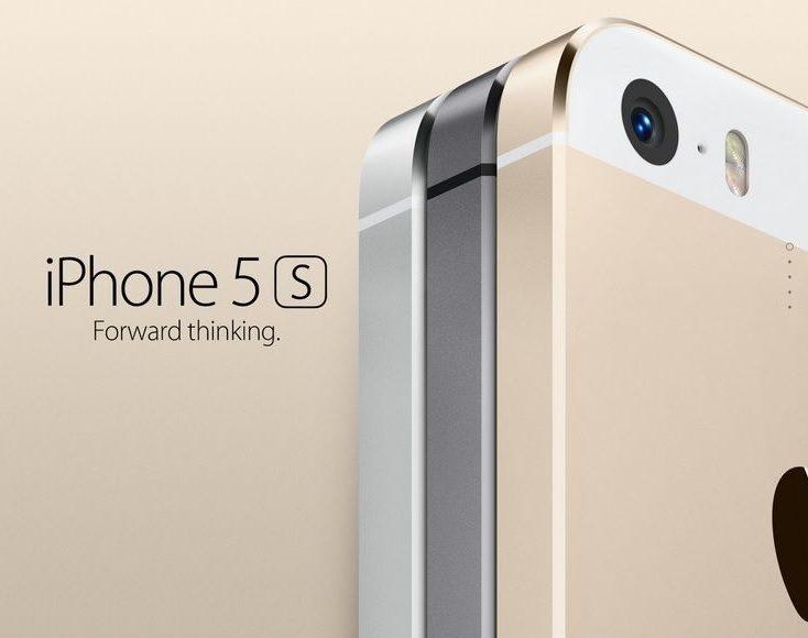 iPhone 5s tre colori
