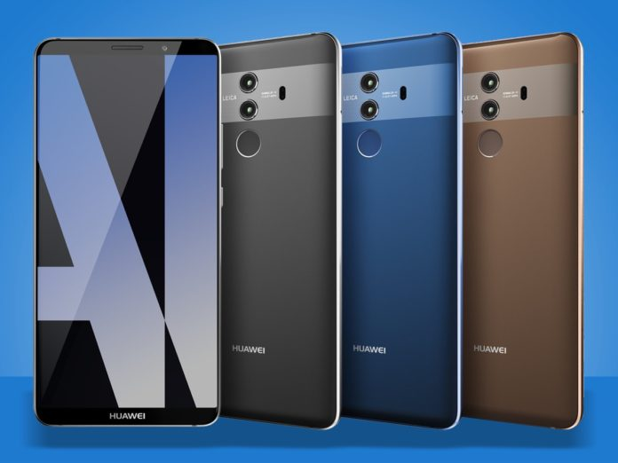 Face ID Huawei Mate 10 Pro, ora si sblocca ora con uno sguardo