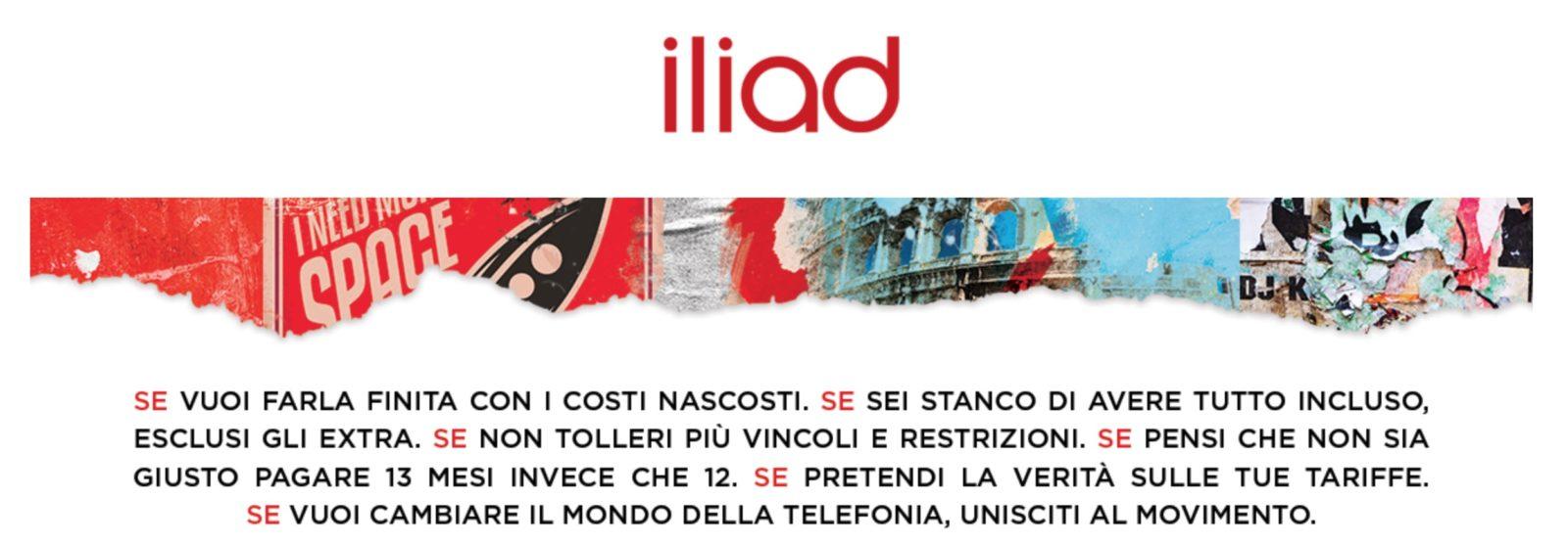 Il 29 maggio arriva Iliad Italia: