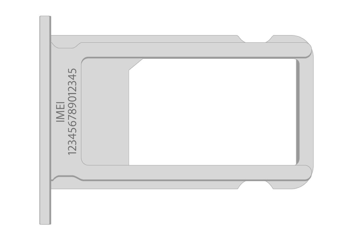 Aprite il Cassettino della scheda SIM per leggere l'IMEI
