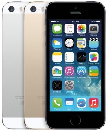 iPhone 5s il dorso
