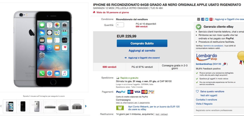 Prezzo iPhone 6s, quanto costa e dove acquistarlo