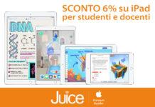 juice sconti studenti e docenti foto Juice sconta tutti gli iPad e i Mac per studenti e docenti
