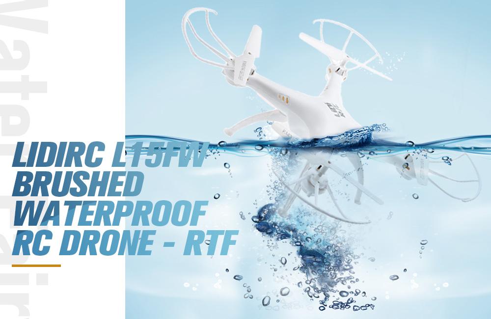 LiDiRC, il drone quadricottero impermeabile in offerta a soli 30 euro
