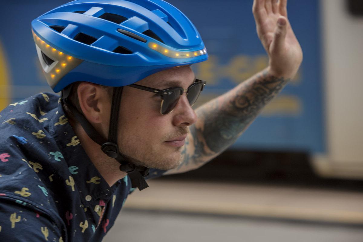 Il casco da bici Lumos