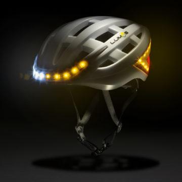 Il casco da bici Lumos si controlla con iPhone e Apple Watch