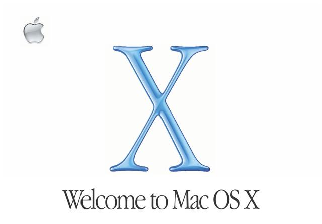 il Mac OS X originale