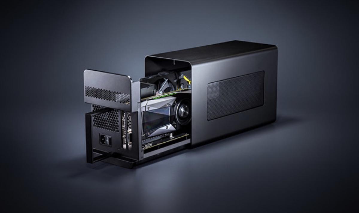 razer Core X - foto razer core x box esterno eGPU