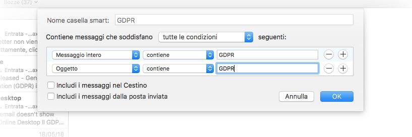Come gestire l'ondata di mail per la GDPR con Mail