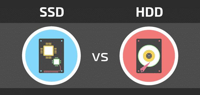 SSD vs HHD