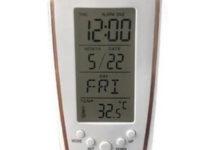 Sveglia digitale con retroilluminazione e termometro ambientale: solo 3 euro