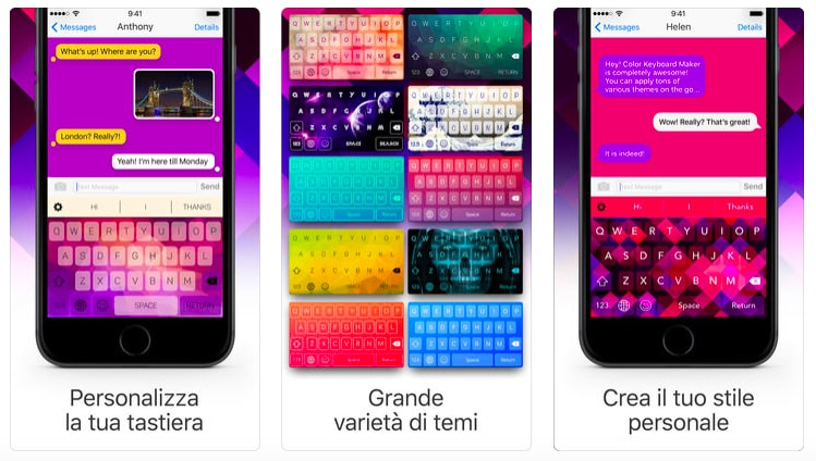 Le migliori tastiere alternative per iPhone e iPad . tastiere con temi