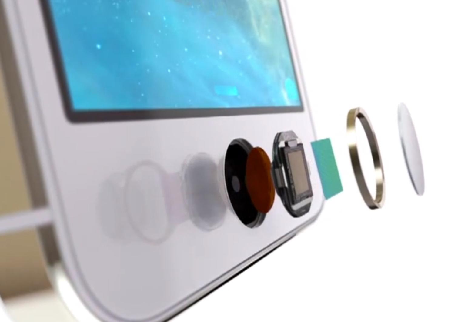 Il touch id di iPhone 5s
