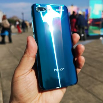 unboxing honor 10
