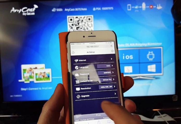 vedere lo schermo di iPhone su PC