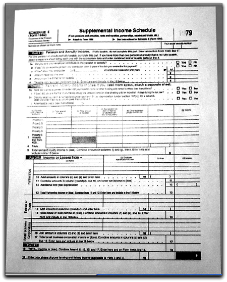 Un modelo per le tasse USA