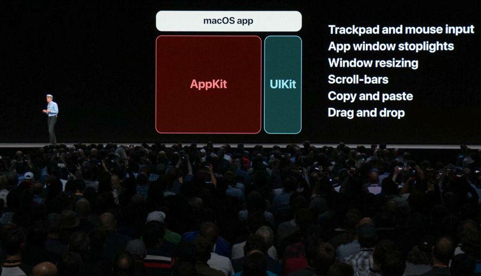 Che cosa è il progetto Marzipan? In questa immagine una delle basi del porting delle app iOS su Mac