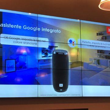 Speaker JBL Link 10, 20, 300 e 500 : la qualità di JBL e la comodità di Google Assistant