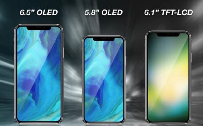 iPhone 6,1 pollici LCD batterà gli iPhone X con schermo OLED