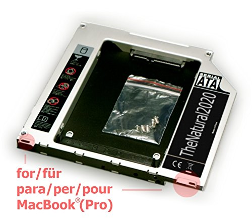 Un SSD nel MacBook Pro e Macbook al posto del lettore CD, servito su Amazon