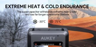 Sconto AUKEY Dash Cam 1080p, meno 20 euro su Amazon