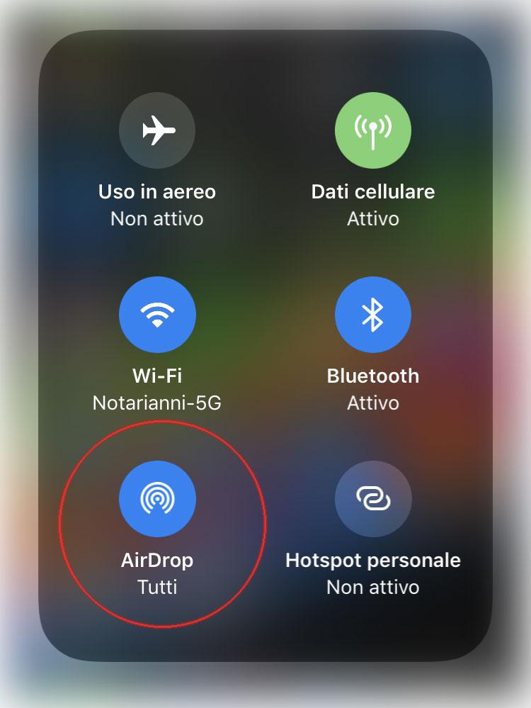 AirDrop tutti da iOS