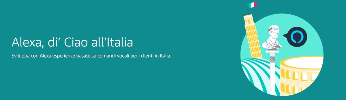 Alexa in Italia sempre più vicina, Amazon invita sviluppatori e costruttori hardware