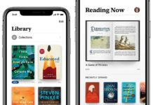 Apple presenta la nuova app Books iOS 12