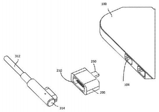 Brevetto per adattatore MagSafe per MacBook con USB C