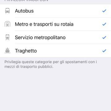Apple Mappe attiva le indicazioni dei trasporti pubblici in Italia, per ora solo a Roma