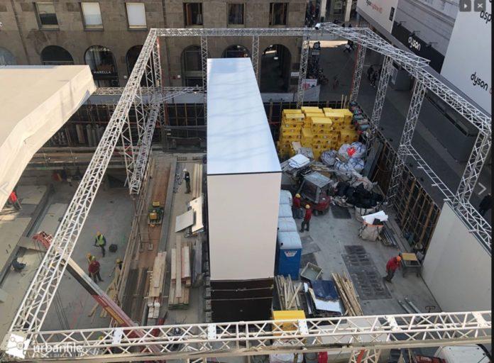 Apple Piazza Liberty Milano inaugurazione attesa il 18 luglio